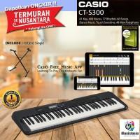 Keyboard Casio CT-S300 + Xstand / CTS300 / CTS 300 Garansi Resmi