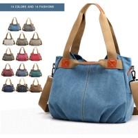 Tas Wanita Kanvas Lady Bag - Tas Selempang Ladi Bag