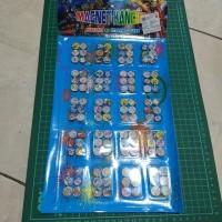 anting magnet 1 papan isi 20X6 grosir mainan anak murah