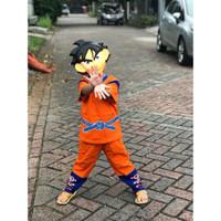 Baju Anak Kostum Topeng Superhero Son Goku Dragon Ball Dragonball
