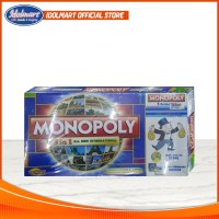 Game Board Monopoly 5 in 1 All New International