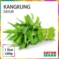 sayur kangkung-kangkung fresh