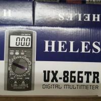 NEW MULTI TESTER MULTI METER AVOMETER AVODIGITAL HELES DIGITAL UX 866