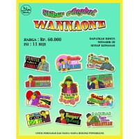 Dijual Stiker Angkot Wanna One Berkualitas