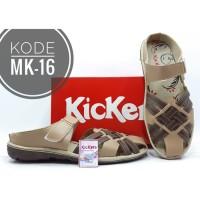 Sandal Wanita Kickers Kode MK-16 Coklat