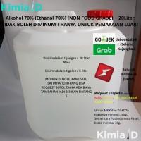 Alkohol 70 Persen 20 Liter Hand Sanitizer Obat Luka