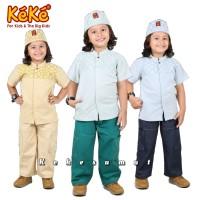 Kekesumut Baju Koko Anak Laki Laki Katun Set Terbaru Keke Busana