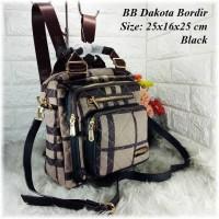 TAS BATAM TAS WANITA IMPORT TAS BB Ransel Dakota Backpack Ransel