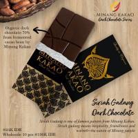 Organic Dark Chocolate - Siriah Gadang series