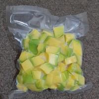 Alpukat Mentega Beku / Frozen Avocado (500 Gram)