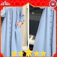 baju LONG DRESS muslim gamis wanita konveksi murah tanah abang