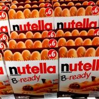 Nutella B-ready 6 stick Biskuit Nutella dengan selai hazelnut di dalam