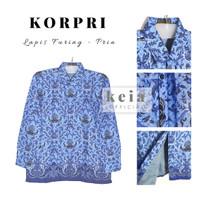 Baju Batik KORPRI (Lapis Furing) PNS 4L-5L - Pria, 5L
