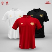 Baju Polo Shirt Timnas Indonesia Garuda 17001GR (3 pilihan warna)