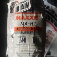 Maxxis MA R1 100 90 -10 56J TL Tubless Ban Luar Vespa Soft Compound
