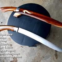pisau sembelih badik baja kayu