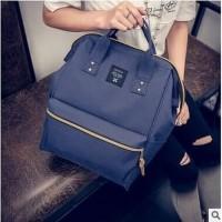 [Annelo Big Size Import FS] tas wanita canvas warna