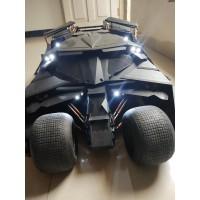Hot Toys Black Tumbler Dark Knight Batmobile Hottoys TDKR Batman 1/6