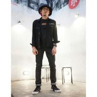 313 Celana Panjang Jeans Pria Selvedge Slim Fit Raw Sanforized 14 OZ
