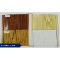 penyekat partisi ruangan pintu pvc plastik Folding Door / Pintu