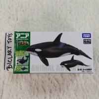 Takara Tomy ANIA AL-08 Orca Killer Whale Ikan Paus Pembunuh Predator