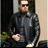 jaket kulit pria 100% kulit original asli