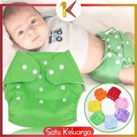 SK-P1 POPOK Bayi Kain Kancing Cloth Diaper Clodi Bayi Dapat Dicuci