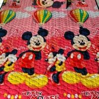 karpet bahan kain karakter 160x210