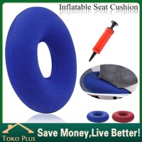 PVC Bantal duduk Inflatable Alas Kursi untuk Penderita Ambeien/Wasir