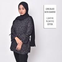 NEW Batik Songket Diamond Cewek / Blouse Batik Wanita Modern Terbaru