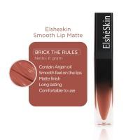 ElsheSkin Smooth Lip Matte Brick The Rules