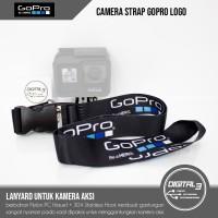 Lanyard GoPro Tali Gantungan Leher Neck Strap Hero 4 5 6 7 8 Black OEM