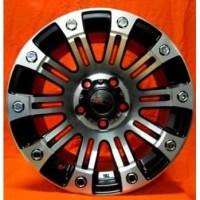VELG TIPE SAHARA JT9027 HSR WHEEL RING 15X8 HOLE 5X114,3 ET20 BLACK/MF