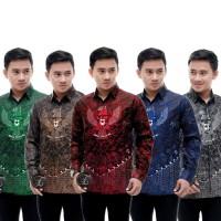 Kemeja Batik Pria Garuda Pancasila Lengan Panjang BP101
