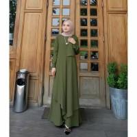 Baju Wanita Muslimah Gamis Wanita syar'i Pakaian Wanita Syari Terbaru