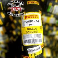 BAN Pirelli 70/90-14 DIABLO SCOOTER For Beat Vario Mio Sporty soul M3