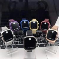 Jam tangan wanita magnet kotak iPh*ne seri ip89