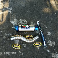 Knalpot AR AUSTIN RACING Slip On CBR150R - New CB150R - CBR250RR