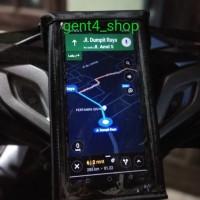 holder hp sepeda motor cocok buat ojol - tas hp motor