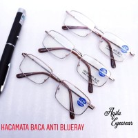 kacamata baca /plus anti blue ray gh