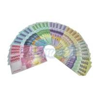 uang mainan mirip asli