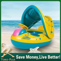 【Tabir surya】Pelampung renang/Ban berenang anak Model boat
