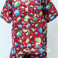 hoot sale Baju Tidur Setelan Dewasa Pajamas Tayo The Little Bus Piyama
