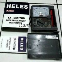 Heles YX-360TRD analog multimeter avometer manual kaya sanwa YX-360TRF