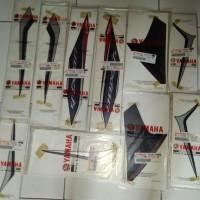 Striping Vixion 2013 original YGP warna hitam full set 250 Pul