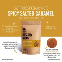 East Forest Kenari Nuts Spicy Salted Caramel 80 Gr