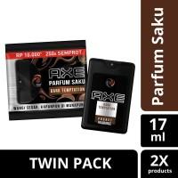 Axe Parfum Saku Dark Temptation 17Ml Twinpack