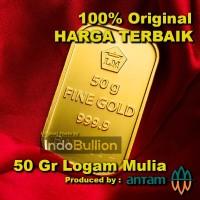 LM Antam 50 gr (versi lama) Circulate w/ Good Condition