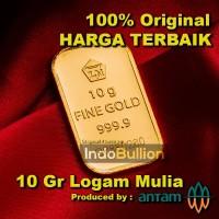 LM Antam 10 gr (versi lama) Circulate w/ Good Condition