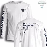 T shirt Kaos Lengan Panjang Salt Adventure Mancing Mania